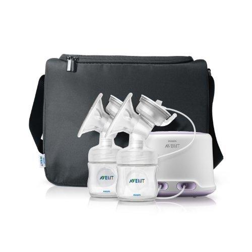 Philips AVENT Double Electric Comfort Breast Pump, White Style: New Version Nourrisson, bébé, enfant
