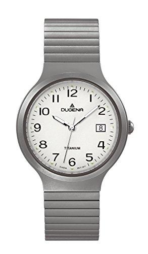 Dugena Men's Quartz Watch with Titanium Analogue Quartz Leather 4460529