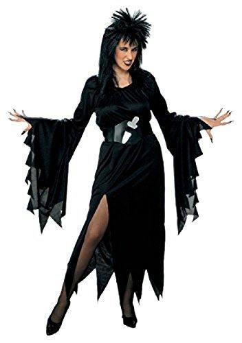 ELVIRA Kostüm Größe XL (Xl Kostüm Elvira)
