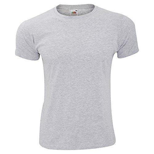 Fruit of the Loom Herren T-Shirt Heather Grey