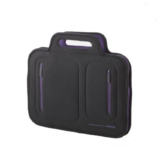 Elecom Organizer Neoprene Notebooktasche 25,6 cm (10,1 Zoll) bis 25,9 cm (10,2 Zoll) lila