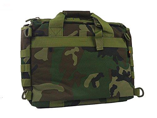 """Jomotala Herren Umhängetaschen Molle Outdoor Sport Rucksack 15 """"Laptop Kamera Mochila Militärische Taktische Computer Tasche Forest Camouflage"""