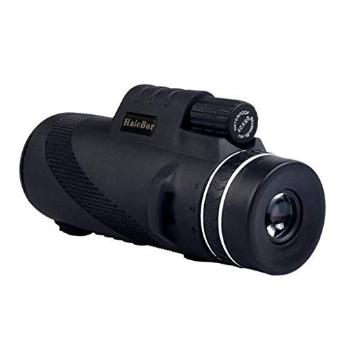 kashyk Monokular,50X60 Mal Monokular Teleskop, HD Monocular Telescope Shimmer Nachtsicht Outdoor Wandern für Vögel, Jagd, Wandern, Reisen