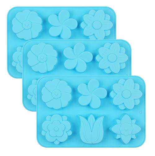 In New Arrival 100% Foodgrade Fondant Silicone Mold 3d Small Roses Shaped Molds Of Silicone For Paste Americana Color Green Fragrant Flavor