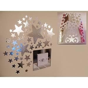 miroir toiles stickers muraux 1 feuille de format a4 cuisine maison. Black Bedroom Furniture Sets. Home Design Ideas