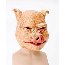 Máscara de látex de cerdo de horror
