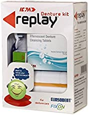 ICPA Adhesive Replay Denture Cleaning Kit with Storage Container (R0005)