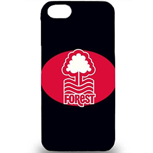 Custom Nottingham Forest Football Club Logo Design 3D Hard Plastic Case Cover For Iphone 5/5s Color337