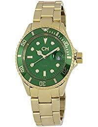 Carlo Monti Herren-Armbanduhr XL Varese Analog Edelstahl beschichtet CM507-299