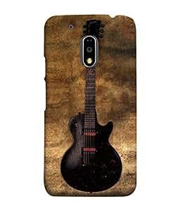 PrintVisa Designer Back Case Cover for Moto E3 Power :: Motorola Moto E3 Power (Designed well modern guitar)