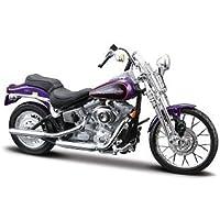 Harley Davidson 2001 FXSTS Springer Softail from Maisto 1/18 scale by Maisto