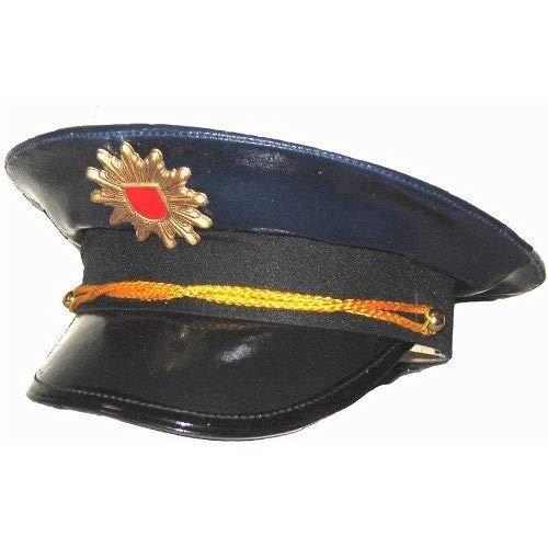 BestSaller Bestsaller1410 Polizeimütze, 3 bis 9 Jahre, blau (Buch Zeichen Kostüm Für Jungen)