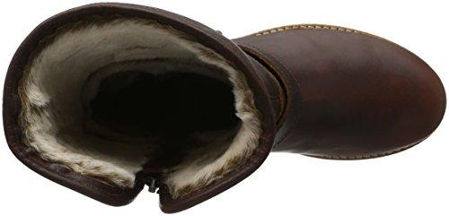 Panama Jack Singapur, Bottes mi-hauteur avec doublure chaude femme Braun (Chestnut B6)