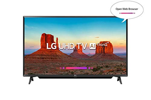 LG 109.3 cm (43 inches) 43UK6780PTE 4K UHD LED Smart TV (Black)