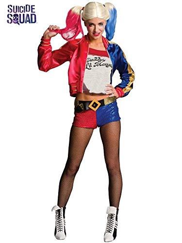 DISBACANAL Disfraz Harley Quinn Mujer - Único, M