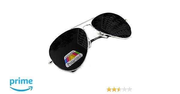 Lunettes De Soleil Femmes Hommes Style Pilote Miroir Polarisée Mirror Silver Black MFAZ Morefaz Ltd …