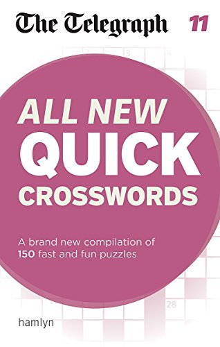 The Telegraph: All New Quick Crosswords 11 (The Telegraph Puzzle Books)