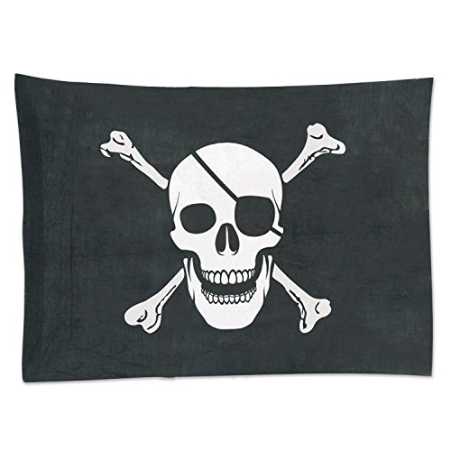 Beistle 50045Flagge Pirat Party Dekoration, 73,7cm X 3'10,2cm ()