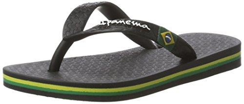 Ipanema Mädchen Classic Brasil II Kids Zehentrenner, Schwarz (Black), 31/32 EU (Ipanema Flip Mädchen Flops)