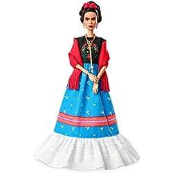 Barbie Colección Grandes Mujeres, muñeca Frida Khalo (Mattel FJH65)