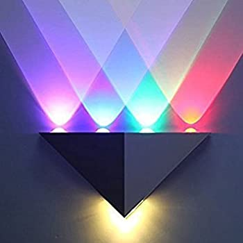 Innori 5w led wall sconce lights aisle light bedroom hote triangle innori 5w led wall sconce lights aisle light bedroom hote triangle shape decorative lightsmulti aloadofball Gallery