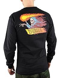 Santa Cruz Corey Reaper L/S T-Shirt - Black