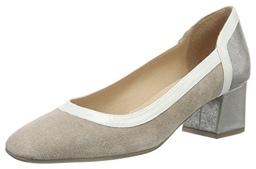 Hispanitas Dalia-5, Escarpins femme Mehrfarbig (VELOUR-V7 NOUGAT MAGIC-V7 ACERO KAFFIR-V7 WHITE)