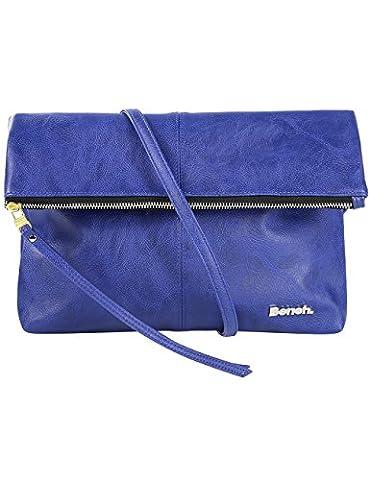 Bench Damen Umhängetasche Leadup, Dazzling Blue, 33.4 x 33.0 x 5.8 cm, 6.39 Liter, BLXA0840 (Handtasche Bench)