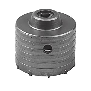Silverline 823541 – Corona perforadora de TCT (80 mm)