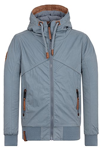 Naketano Male Jacket Don Diva BlueGrey