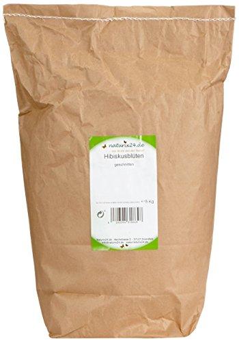 Preisvergleich Produktbild Naturix24 Hibiskusblüten geschnitten, 1er Pack (1 x 5 kg)