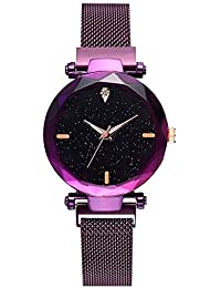 The Shopoholic Analogue Purple Dial Watch for Girls(S-451)