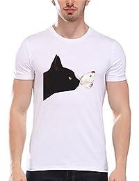 Herren T-Shirt Sommer Btruely Junge Bluse Mode Bluse Männer Kurzarm O-Neck Briefe Drucken Top Slim Fit Modal Hemden... preisvergleich bei kinderzimmerdekopreise.eu