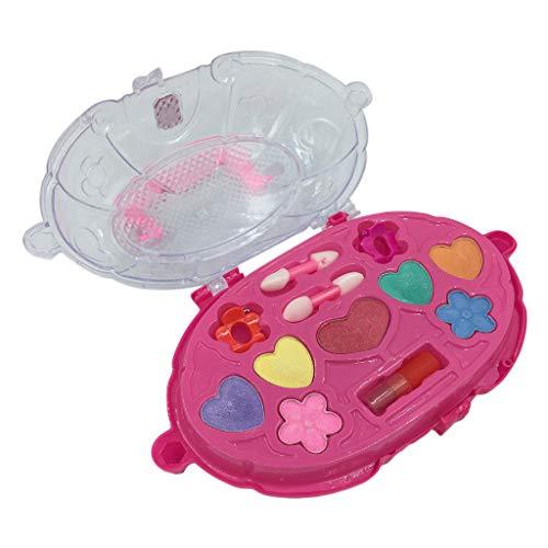 Mitlfuny Auto-Modell Plüsch Bildung Squishy Spielzeug aufblasbares Spielzeug im Freien Spielzeug,Princess Girl's Pretend Play Spielzeug Deluxe Makeup Palette Set Non Toxic für Kinder (Cream Girl Kostüm Ice)