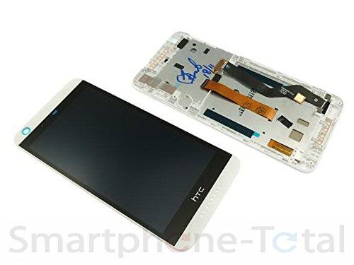 HTC Desire 626G DUAL SIM Displaymodul LCD Display Touchscreen Scheibe + Gehäuse Cover Rahmen, weiß (Dual-sim Handy Htc)