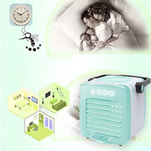 Jamicy® Mini Air Cooler, Luftkühler Luftbefeuchter Luftreiniger, USB Kühler Mobile Klimageräte, Luftbefeuchter Ventilator, Mobile Klimaanlage Klimagerät (Blau)