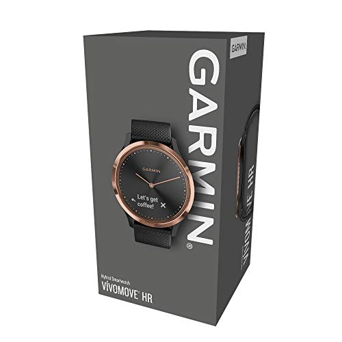 Garmin Vivomove HR Sport Fitness-Tracker Rosegold M - 7