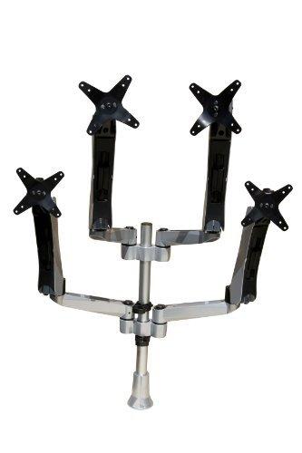 mount-it. Altezza regolabile Quad/Four monitor Desk Mount Spring ARM Quick R