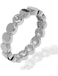 Secret Diamonds Damen-Ring 925 Sterlingsilber 1 Diamant 0,01 weiß 60250087