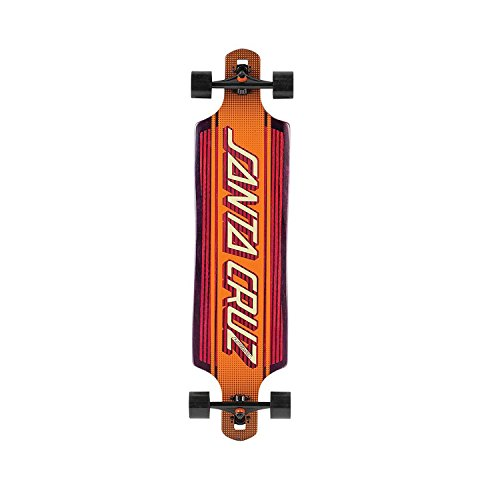Santa Cruz Skateboard Longboard Strip Inlay Kevlar Drop, 10.0 x 40.0 Zoll, SANLOBSTINKE