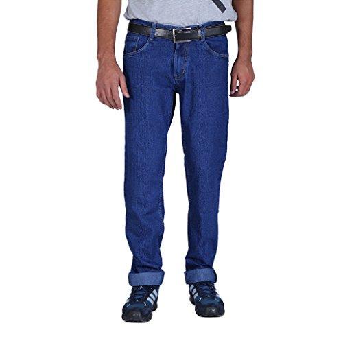 ALLY of Focker Men's Blue Stretchable Jeans