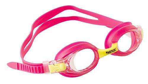 Seac Bubble Occhialini Nuoto da Piscina per Bambini e Bambine, Rosa