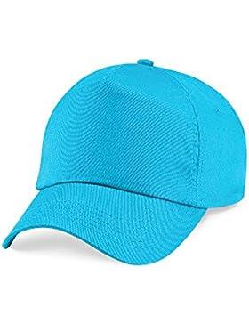 Beechfield - Cappello - Opaco - ragazzo Turchese Surf Blue Taglia unica