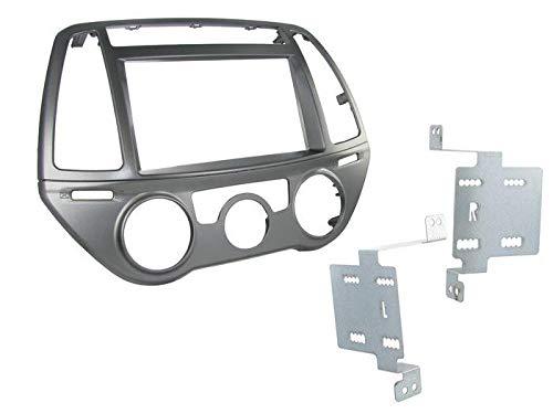 Silim KIT 2 DIN Hyundai I20 2012 avec CLIM Manuel
