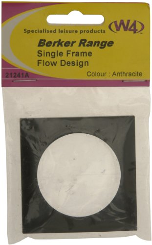 Price comparison product image W4 Berker Single Frame Fitting - Anthracite