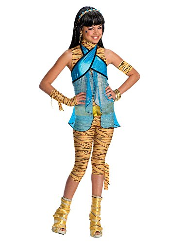 Kostüm Nile Cleo De Zubehör (Rubies Costume Co R884790-L Monster High Cleo De Nile Kost-m)