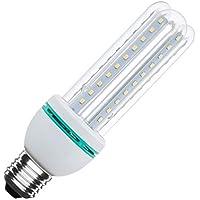 Bombilla LED CFL E27 12W Blanco Neutro 4500K efectoLED