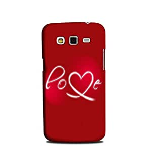 Samsung Galaxy Grand 2 designer case and cover printed mobile back cover StyleO Love