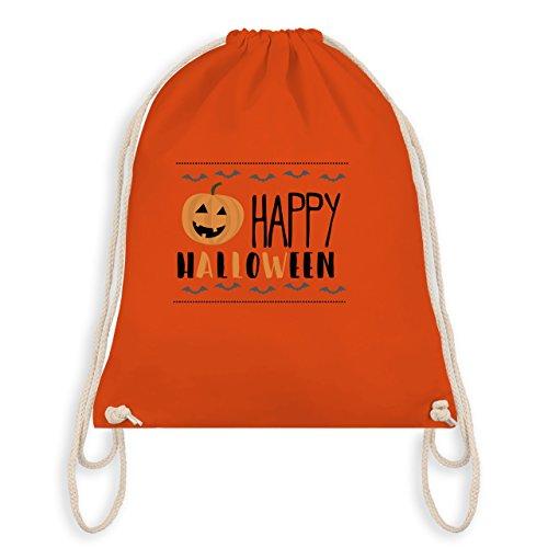 Halloween - Happy Halloween - Turnbeutel I Gym Bag Arancione
