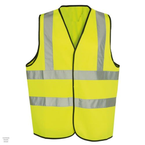 Hi-Vis-Orange-High-Viz-SMALL-Visability-Waistcoat-Safety-Vest-Jacket